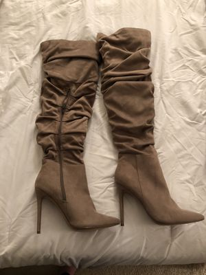 Shoe Dazzle thigh high boots for Sale in Falls Church, VA