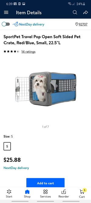 Small dog kennel for Sale in Santa Ana, CA