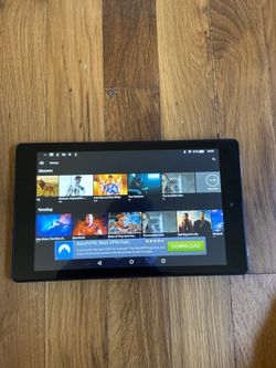 Amazon fire tablet 7 unlocked free tv / movies with latest Nova for Sale in Portland,  OR