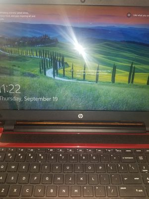 Hp laptop 15 and a half inch screen for Sale in Goodyear, AZ
