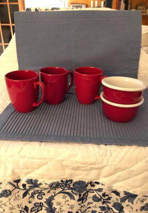 Corelle Stoneware mugs and CorningWare Stoneware for Sale in Texas City, TX