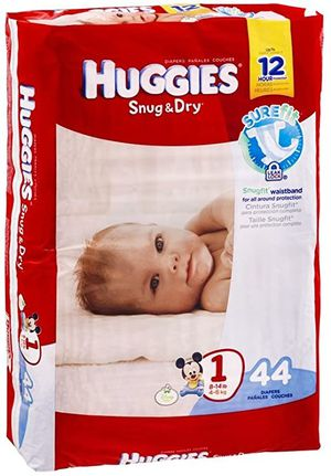 Huggies Snug & Dry size 1 Diapers 44 count for Sale in Jacksonville, FL
