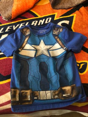 5T Captain America Shirt for Sale in North Olmsted, OH