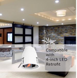 "4"" retrofit LED downlight housing for Sale in Beverly Hills, CA"