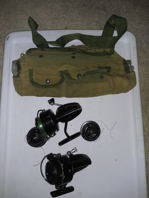 2 Garcia 300 Fishing Reels+2 x Spools $70 and Aida 100 Camping Stove $50 for Sale in Concord, CA