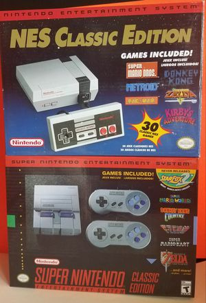 SNES/NES COLLECTORS EDITION for Sale in Queens, NY
