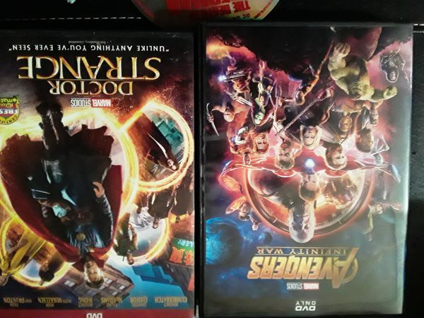 3 DVDs like new