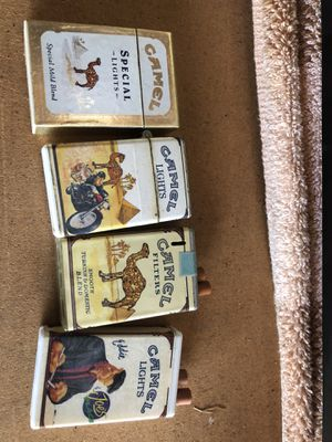 Lot of 4 camel lighters Not Zippo but vintage smokes for Sale in Hayward, CA