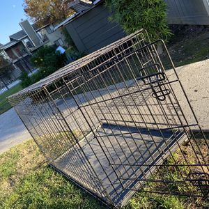 Dog Cage For Medium And Larger Dogs $40.00 Obo for Sale in Fresno, CA