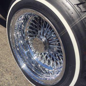 13x7 wire wheels for Sale in Stockton, CA