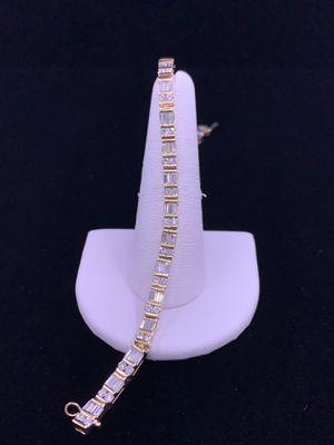 14k Yellow Gold Tennis Bracelet for Sale in Phoenix, AZ