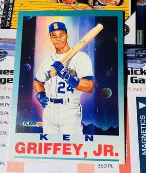 1992 Fleer Ken Griffey Jr #709 baseball card Seattle Mariners for Sale in San Diego, CA