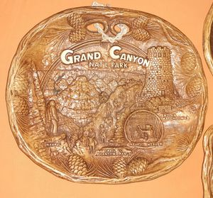 GRAND CANYON NATIONAL PARK COMPOSITE PLAQUE for Sale in Los Angeles, CA