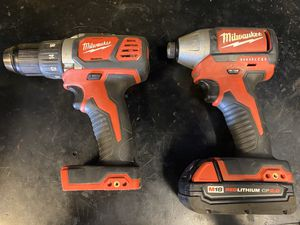 Milwaukee Impact & Drill for Sale in Clovis, CA