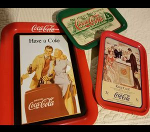 Coke Cola Trays for Sale in Claremont, CA