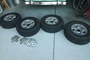 31/10.5 R15 set of four wheels and tires for Sale in Portland, OR