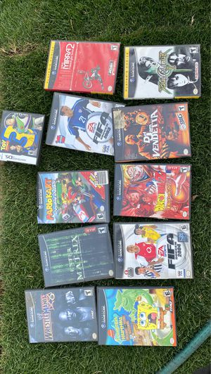 Gamecube games ! for Sale in Sanger, CA