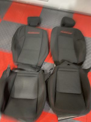 New take off 2021 wrangler rubicon cloth seats covers for Sale in Tacoma, WA