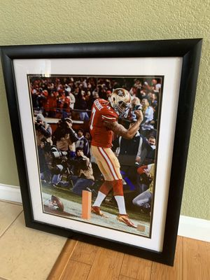 Nearly New 49ers Colin Kaepernick Photo with Frame 22.5x26.5 Pick up at Richmond for Sale in Richmond, CA