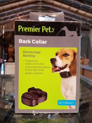 Premiere Pet Bark Control Collar for Sale in Mercedes, TX