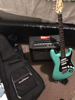 Fender Squier Electric Guitar Starter pack. for Sale in San Diego, CA