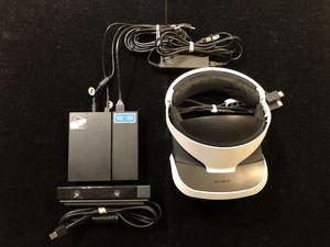 Sony PlayStation VR Headset PSVR PS4 CUH-ZVR1+CUH-ZEY1 Motion Camera+Cords(Post Nintendo era) for Sale in Atlanta, GA