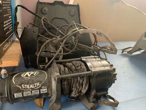 KFI winch stealth 2500 with skid plate for Sale in Clermont, FL