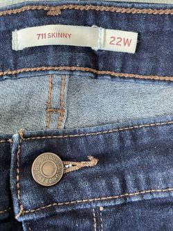 Levi 22W Skinny Jeans for Sale in Oklahoma City,  OK
