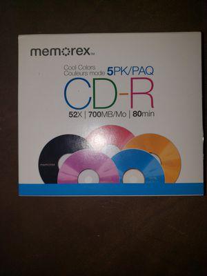 5PK Color CD-R for Sale in Joliet, IL