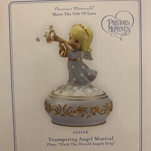 Precious Moments - Trumpeting Angel Musical for Sale in Clayton, NJ