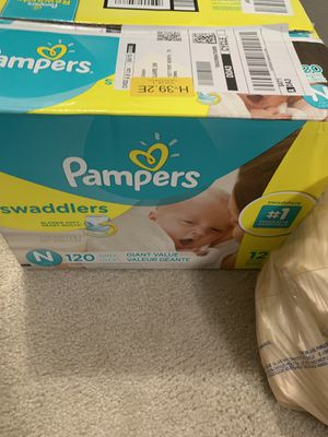 Newborn diapers for Sale in Fort Worth, TX