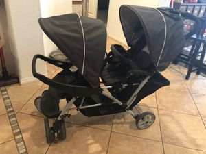Graco duo double stroller for Sale in Fontana, CA