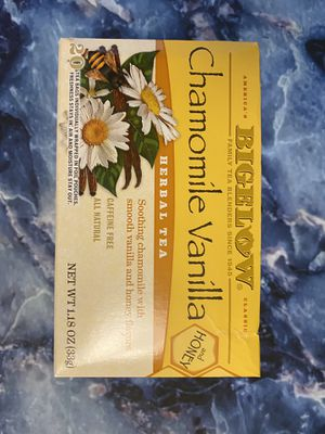 Bigelow Chamomile Vanilla Herbal Tea for Sale in Ithaca, NY