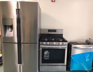 Top of the line stainless steel appliances for sale ! New & used scratch dent items! Warranty and delivery available! for Sale in Union City, NJ