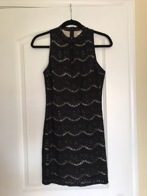 Black dress with wonderful details for Sale in Chicago, IL
