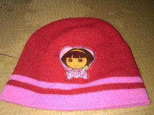 Dora the Explorer toboggan hat&rubber Dora rain boots for Sale in Culloden, WV