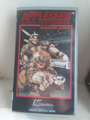 Appleseed (VHS, 1991) U.S. Renditions Cyberpunk Anime VHS Masamune Shirow for Sale in Santa Maria, CA
