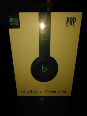 Beats By Dre Solo 3 Wireless Brand New for Sale in Sacramento, CA