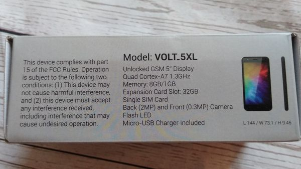 New UNLOCKED Surge Volt-5XL ( New with box )