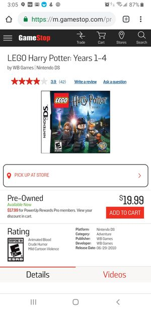 Lego Harry Potter yr 1-4 for Sale in Lakeside, CA