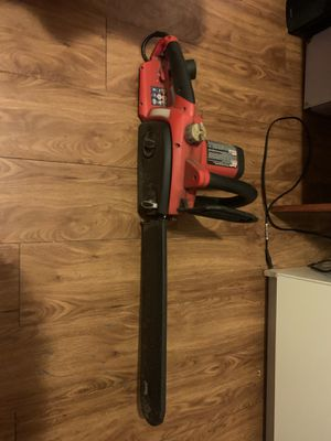 Homelite electric Chainsaw for Sale in Austin, TX