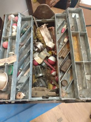 Antique fishing lures and tackle box for Sale in Swansea, IL