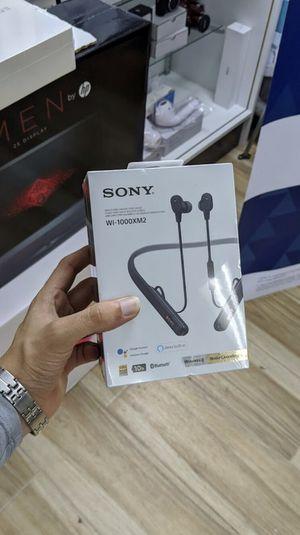 Sony - WI-1000XM2 Wireless Noise-Canceling In-Ear Headphones! Brand New in Box - One Year Warranty! for Sale in Arlington, TX