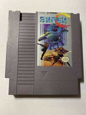 SUPER C CONTRA -- NES Nintendo Original Game A1 for Sale in Glendale, AZ