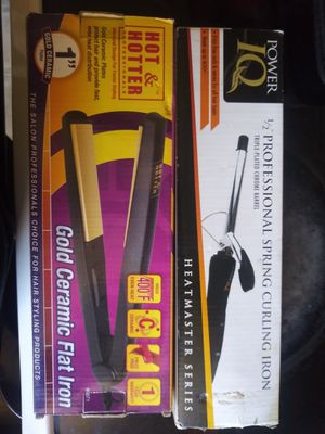 Hair straightener and curler for Sale in Mesa, AZ