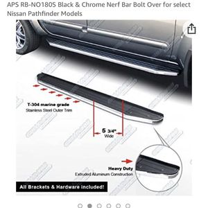 2013 And Up Pathfinder And Infinity Qx-60 Running Board Kit for Sale in Riverside, CA