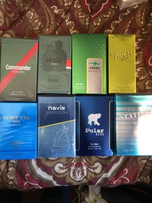 Men's Cologne Set of 8 for Sale in San Diego, CA