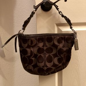 Coach Signature Hobo Purse for Sale in The Colony, TX
