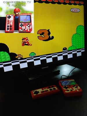 Portable Handheld + 2nd controller with 300 Classic Nintendo NES games built in for Sale in San Antonio, TX
