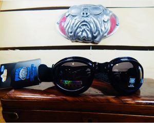PUGS Foldable/Flexable Sports Goggle Sunglasses Black for Sale in Coram, NY